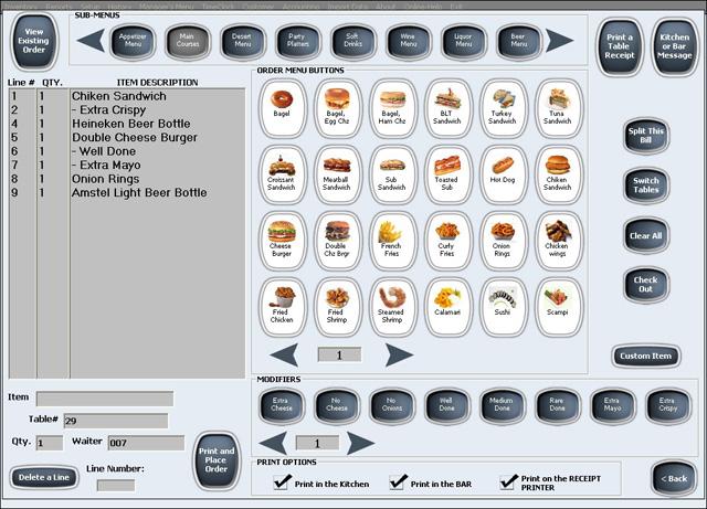 99 restaurant software alexandria point of sale software. Black Bedroom Furniture Sets. Home Design Ideas